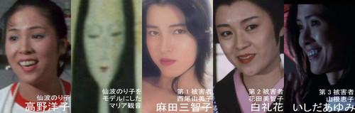 田中がストーカーした、もしくは殺した女性たち。あるいは描いた絵